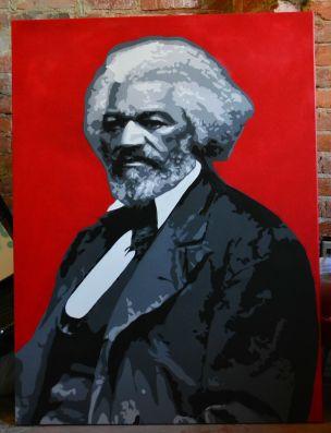 Frederick Douglass - 4' x5'