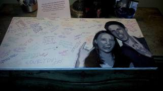 "Will and Val- Wedding Portrait Guest Book, 15"" x 30"""